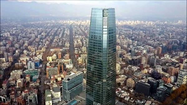 La Gran Torre Santiago o Costanera Center, dove vedere il miglior panorama.