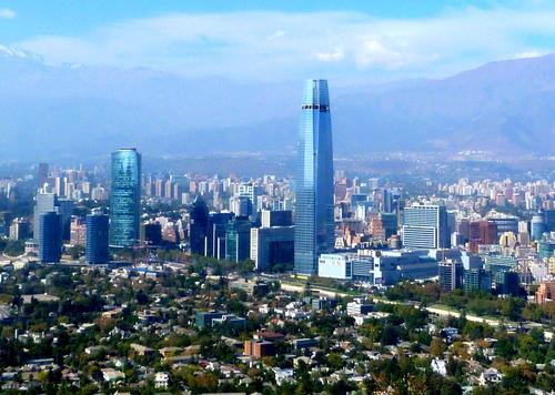 Santiago del Cile.