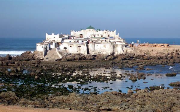 Isola santuario di Sidi Abderrahmane.