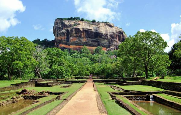 Sigiriya, la roccia del Leone.