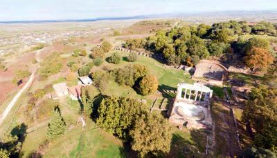 Il sito archeologico di Apollonia in Albania.