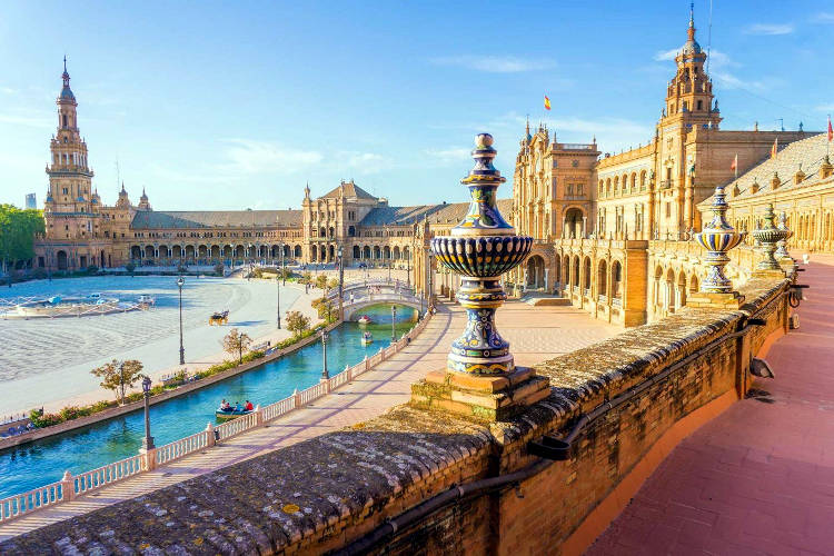 La bellissima Siviglia in Spagna.