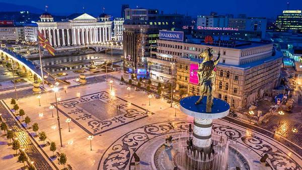 Skopje, la capitale della Macedonia ha molti bei luoghi da vedere.