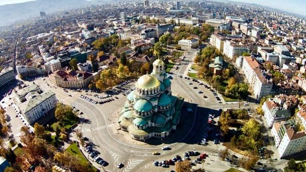 Sofia, la vivace capitale della Bulgaria.