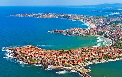 Il mare e le spiagge di Sozopol.