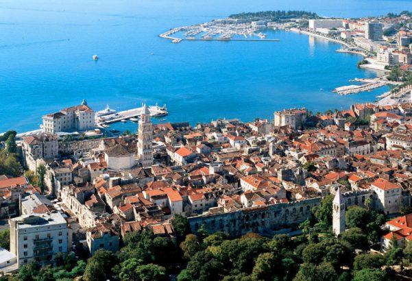 Spalato in Croazia.
