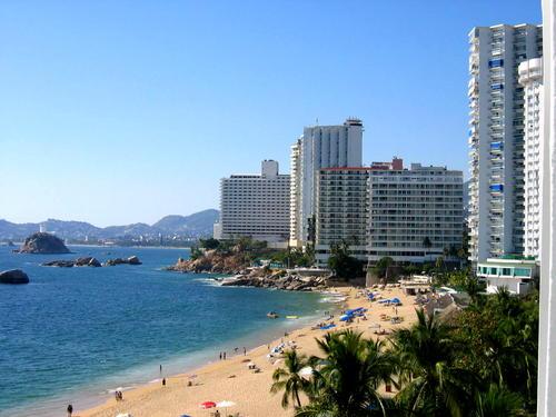 Spiagge di Acapulco, Messico.