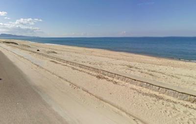 La spiaggia Li Junchi a Badesi Mare, vicino Castelsardo.