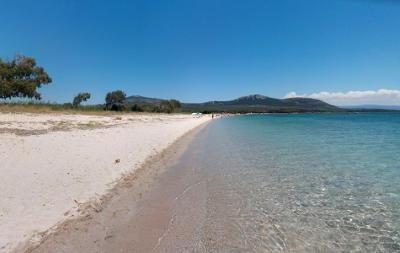 Spiaggia di Mugoni vicino Alghero e Capo Caccia.