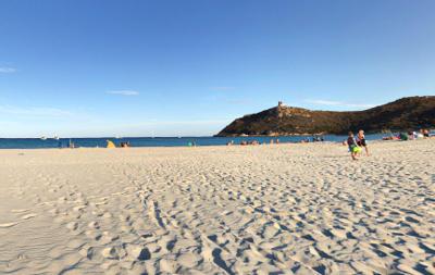 Spiaggia di Porto Giunco vicino Villasiumius.