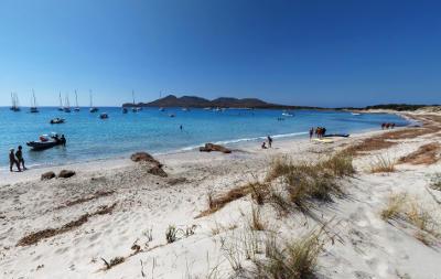 Spiaggia di Porto Zafferano in Sardegna.