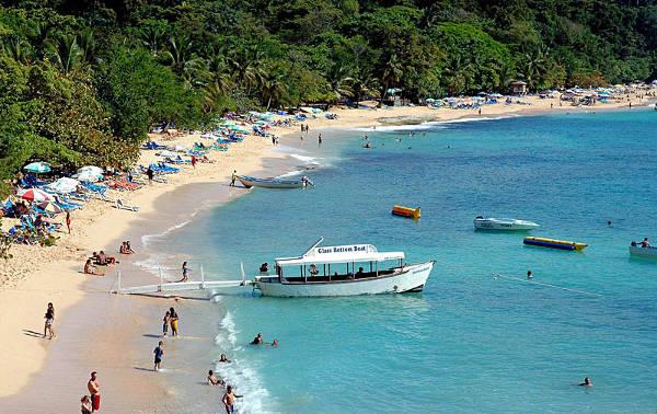 Sousa, una spiaggia di Puerto Plata in Repubblica Dominicana.