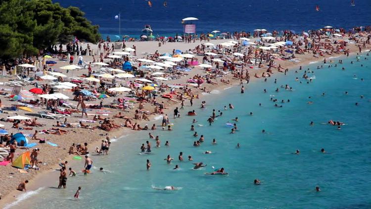 Croazia in Alta stagione estiva.