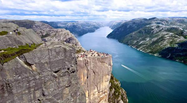 Stavanger in Norvegia.