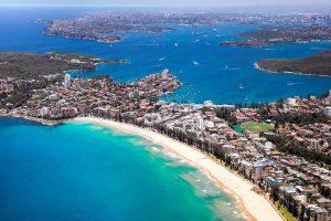 La zona di Manly a Sydney.