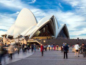 Opera House di Sydney in Australia.