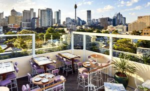 Una zona romantica di Sydney.