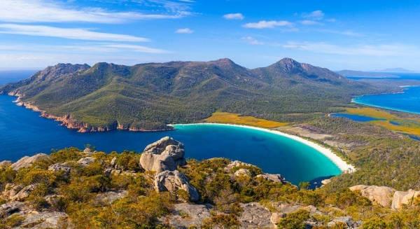 Le bellezze naturali della Tasmania.