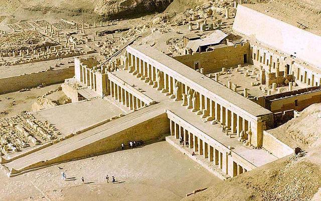 Tempio nella Valle dei Re a Luxor.