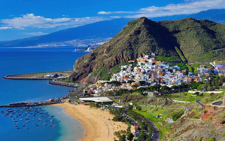 Un'immagine di Tenerife alle Isole Canarie.