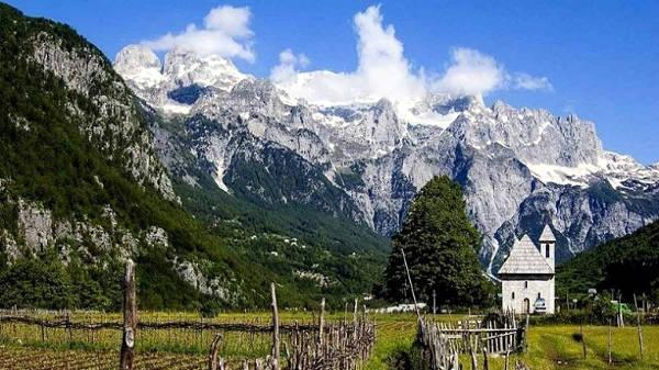Il parco nazionale di Thethi e le Alpi albanesi.