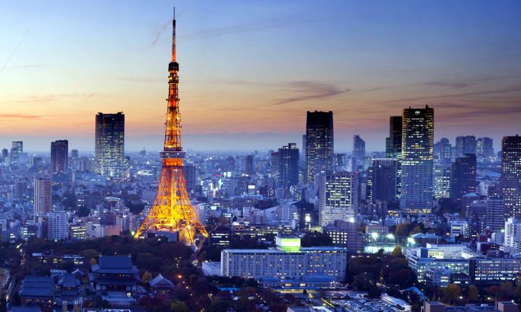 Tokyo, la capitale del Giappone.