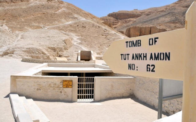 Tomba di Tutankhamon chiamata anche KV62.