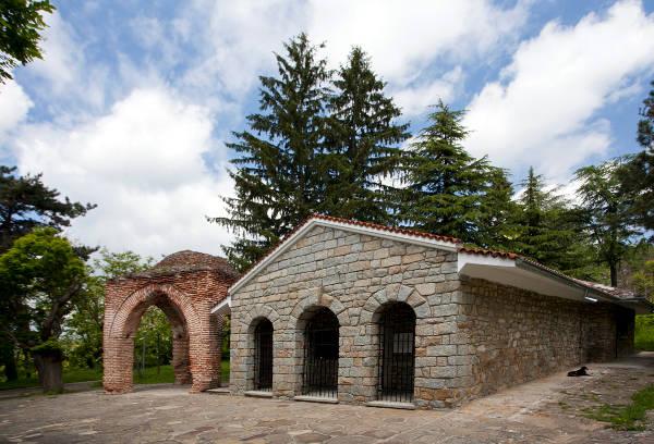 Tombe dei re traci in Bulgaria.