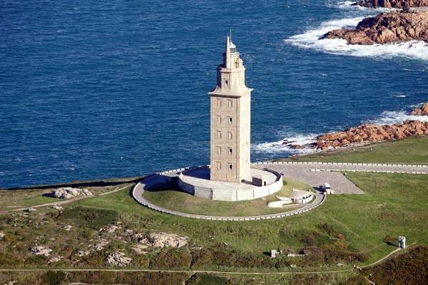 La torre di Ercole a La Coruña.