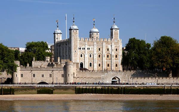 La Torre di Londra, antichissimo castello della capitale britannica.