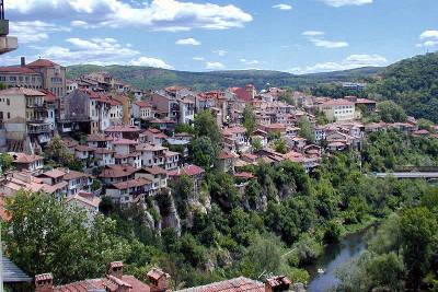 Veliko Tarnovo antica capitale medievale della Bulgaria.