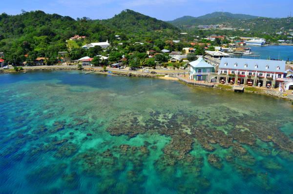 Viaggiare in Honduras, la costa caraibica.