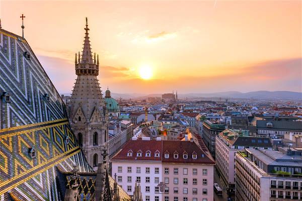 Vienna, capitale dell'Austria.