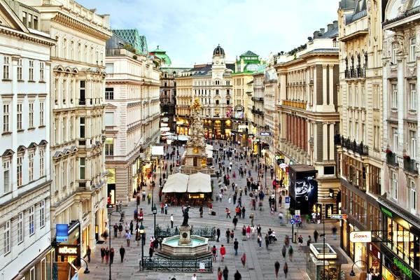 Centro storico di Vienna.