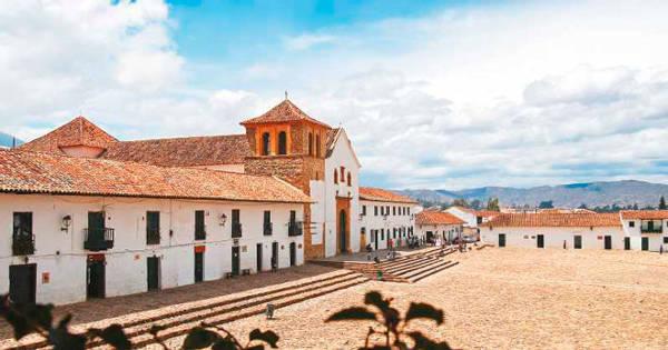 La bellissima Villa de Leyva in Colombia.
