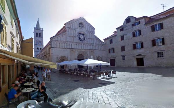 La cattedrale di Zara dedicata a Sant'Anastasia.