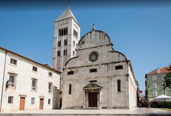 La chiesa di Santa Maria da visitare a Zadar.