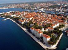 Zara in Dalmazia sulla costa.