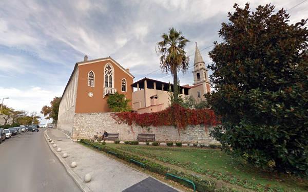 Il monastero e la chiesa di San Francesco a Zadar.
